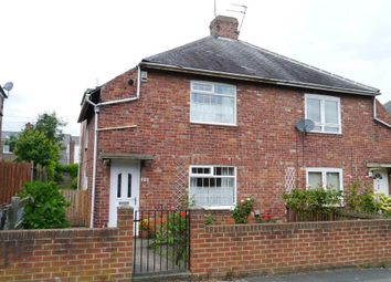 Thumbnail 2 bed semi-detached house for sale in Nelson Avenue, Coxlodge, Gosforth
