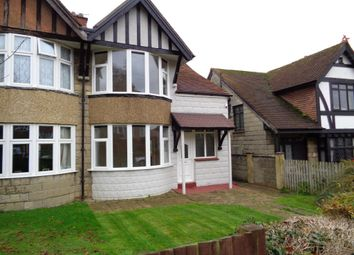 Thumbnail 3 bed semi-detached house to rent in Elphinstone Road, Hastings