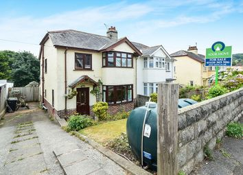 Thumbnail 3 bed semi-detached house for sale in Margaret Road, Ogwell, Newton Abbot