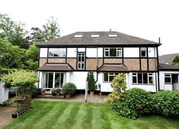 Thumbnail 5 bedroom detached house for sale in Worlds End Lane, Chelsfield, Kent