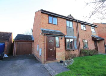 Thumbnail 3 bed semi-detached house for sale in Fawley Close, Hereford