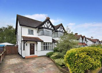 Thumbnail 4 bed semi-detached house for sale in Princes Avenue, Carshalton