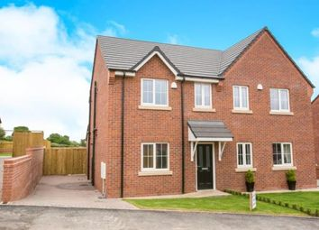 Thumbnail 3 bed semi-detached house for sale in Tower View Close, Bridge Street, Wybunbury, Nantwich