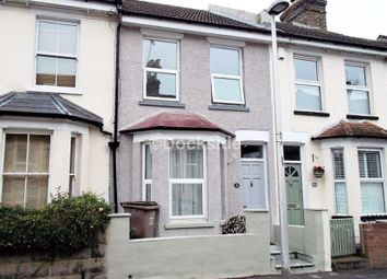 Thumbnail 3 bedroom terraced house to rent in Rochester Avenue, Rochester