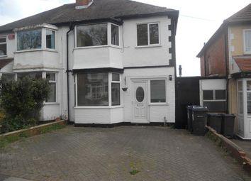 Thumbnail 3 bedroom property to rent in Anstey Road, Birmingham
