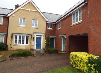 Thumbnail 3 bed terraced house for sale in Bellfield Close, Witham