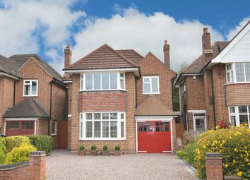 Thumbnail 4 bed detached house for sale in Shakespeare Drive, Shirley, Solihull