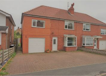 Thumbnail 4 bed semi-detached house for sale in Littlemoor Close, Scarborough