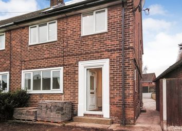 Thumbnail 3 bedroom semi-detached house to rent in Chesterton Drive, Worksop