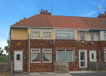 Thumbnail 2 bedroom end terrace house for sale in Welwyn Park Avenue, Hull