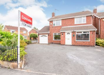 Thumbnail 3 bed detached house for sale in Somerfield Way, Leicester Forest East, Leicester