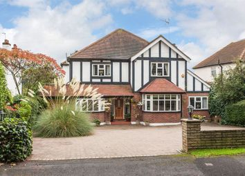 Thumbnail 5 bed detached house for sale in Pine Walk, Carshalton Beeches