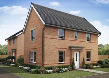 "Thumbnail 3 bedroom detached house for sale in ""Moresby"" at Mount Street, Barrowby Road, Grantham"