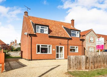 Thumbnail 3 bed detached house for sale in Bradmere Lane, Docking, King's Lynn