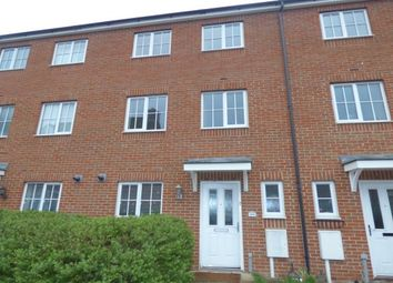 Thumbnail 4 bed town house to rent in Downing Close, Bletchley