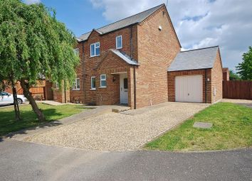 Thumbnail 3 bed semi-detached house for sale in Jubilee Close, Sutton St. James, Spalding