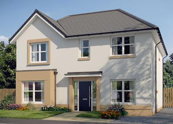 "Thumbnail 4 bed detached house for sale in ""The Pendlebury"" at Glasgow Road, Denny"