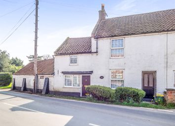 Thumbnail 2 bed end terrace house for sale in The Street, Catfield, Great Yarmouth