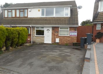 Thumbnail 3 bed semi-detached house for sale in Watkins Road, Willenhall, Wolverhampton