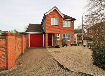 Thumbnail 3 bed detached house for sale in Marcus Close, Colchester