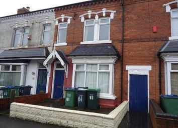 Thumbnail 2 bed terraced house to rent in Milcote Road, Bearwood, Smethwick