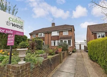 Thumbnail 3 bed semi-detached house for sale in Ashenground Road, Haywards Heath, West Sussex