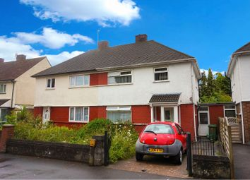 Thumbnail 3 bed semi-detached house for sale in Western Drive, Cardiff