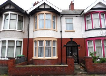 3 bed terraced house for sale in St Albans Road, Blackpool FY1