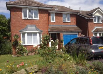 Thumbnail 4 bed detached house for sale in Goldcliffe Close, Callands, Warrington, Cheshire