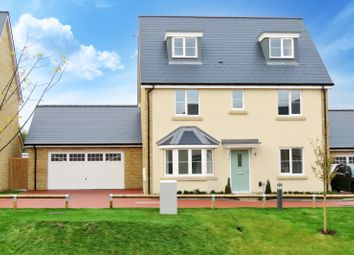 Thumbnail 5 bed detached house for sale in Harvester Close, Garden Walk, Royston, Hertfordshire