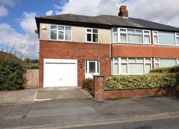 Thumbnail 4 bed semi-detached house for sale in Garrison Road, Fulwood, Preston