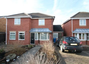 Thumbnail 2 bed semi-detached house for sale in Riverfield Grove, Bolehall, Tamworth