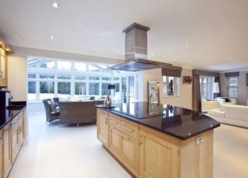 Thumbnail 5 bed detached house to rent in Woodham Park, West Byfleet