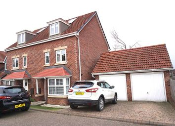 Thumbnail 4 bed semi-detached house for sale in Birch View, Chester Le Street