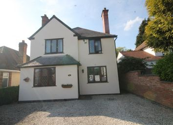 Thumbnail 3 bedroom detached house for sale in Kingsfield Road, Barwell, Leicester