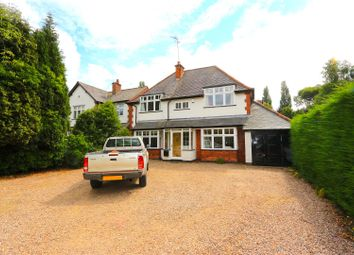 Thumbnail 4 bed detached house for sale in Kirby Lane, Kirby Muxloe, Leicester
