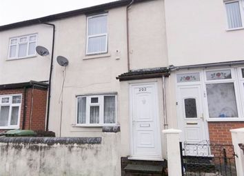 Thumbnail 3 bed terraced house to rent in Newhampton Road East, Wolverhampton