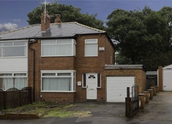 Thumbnail 3 bed semi-detached house for sale in Calverley Gardens, Leeds, West Yorkshire