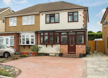 Thumbnail 3 bed semi-detached house for sale in Kingley Drive, Wickford
