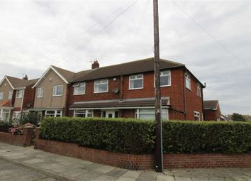 Thumbnail 4 bed semi-detached house for sale in Dereham Road, Seaton Sluice, Whitley Bay