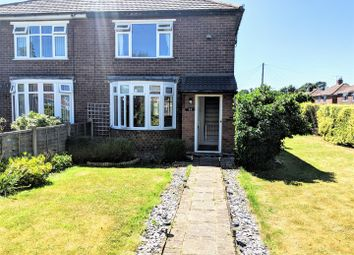 Thumbnail 2 bed semi-detached house for sale in First Avenue, Stafford