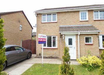 Thumbnail 2 bed semi-detached house for sale in Kingshaven Drive, Penwortham, Preston