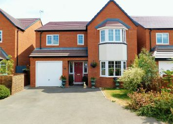 Thumbnail 4 bed detached house for sale in Leese Walk, Gnosall, Stafford
