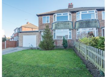 Thumbnail 3 bed semi-detached house for sale in Knox Avenue, Harrogate