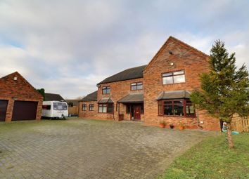 Thumbnail 6 bed detached house for sale in West Street, Hibaldstow, Brigg