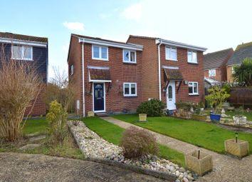 Thumbnail 3 bed semi-detached house for sale in Ajax Close, Stubbington, Fareham