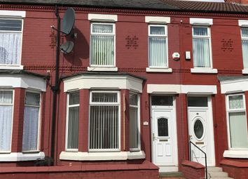 Thumbnail 3 bed terraced house to rent in Evelyn Road, Wallasey