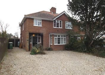 Thumbnail 3 bed semi-detached house for sale in Thorpe St Andrew, Norwich, Norfolk