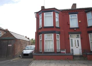 Thumbnail 3 bed end terrace house for sale in Blantyre Road, Wavertree, Liverpool