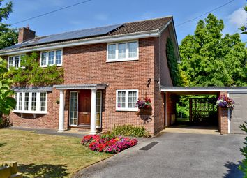 Thumbnail 4 bed detached house for sale in Heather Close, Hordle, Lymington